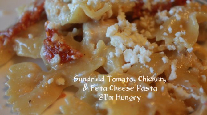 Sundried Tomato, Chicken, & Feta Cheese – One Pot Pasta Dish