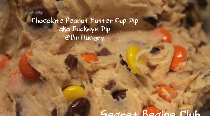 Chocolate Peanut Butter Cup Dip – Secret Recipe Club