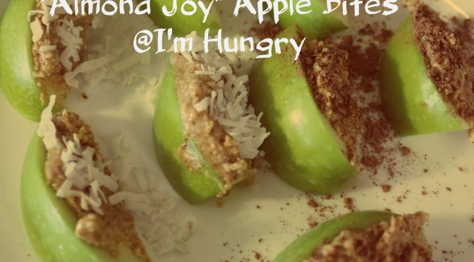 """Almond Joy"" Apple Bites"