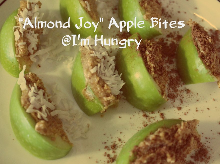 Almond Joy Apple Bites