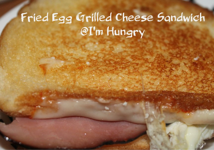 Fried Egg Grilled CheeseSandwich