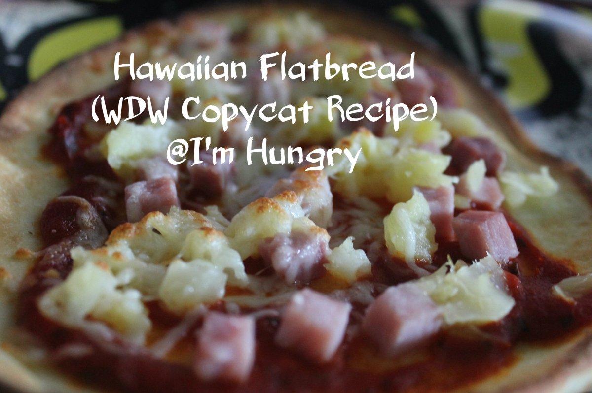 Hawaiian Flatbread (WDW CopycatRecipe)