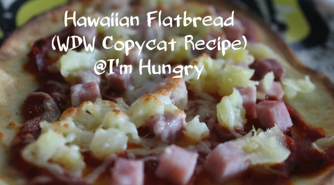 Hawaiian Flatbread (WDW Copycat Recipe)