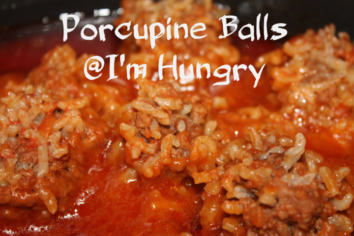 Porcupine Balls with Gravy (Pressure Cooking)