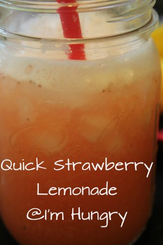 quick strawberry lemonade
