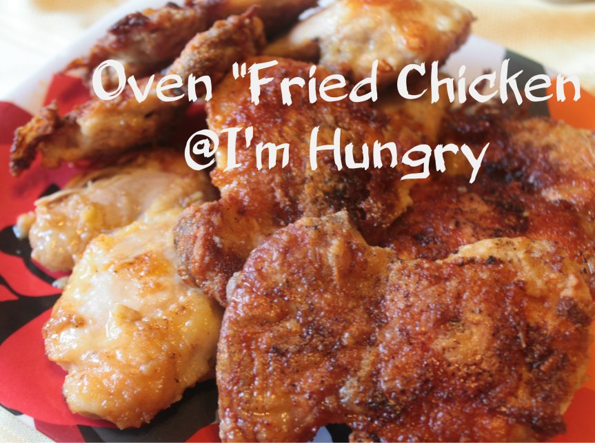 """Oven """"Fried"""" Chicken (Gluten FreeOption)"""