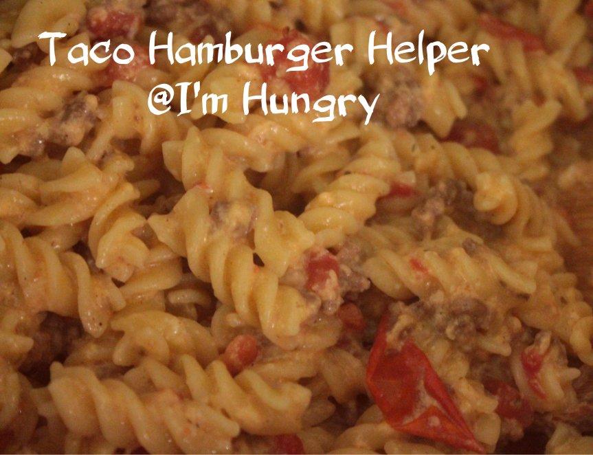Taco Hamburger Helper – Secret Recipe Club (July2016)