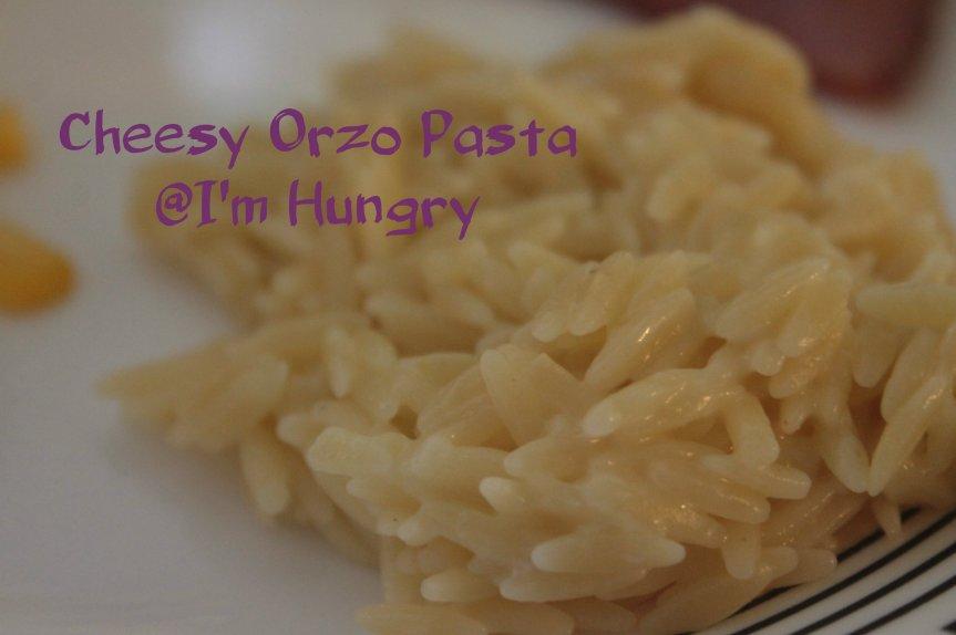 Cheesy Orzo Pasta (Simple SideDish)
