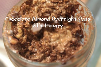 chocolate almond overnight oats