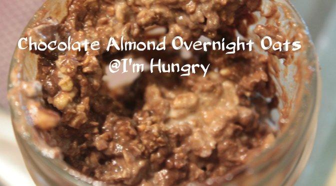 Chocolate Almond Overnight Oats and Sunday Prep Idea List