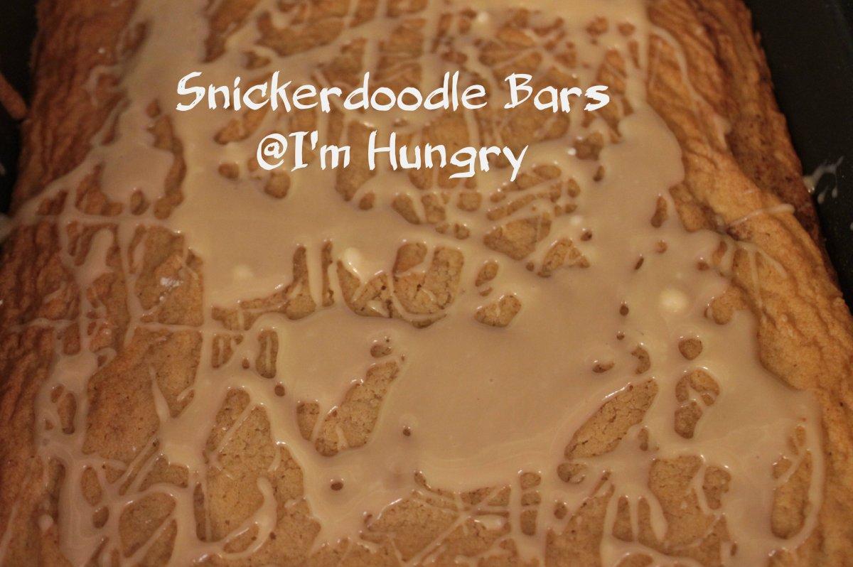 Snickerdoodle Bars – Secret Recipe Club (August2016)