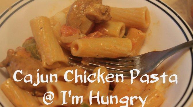 Cajun Chicken Pasta – Secret Recipe Club (September 2016)