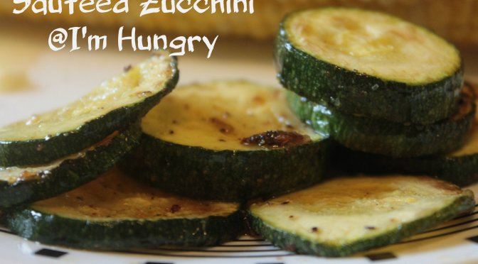 Sauteed Zucchini (Simple Side Dishes)