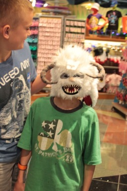 Yeti from the Expedition Everest