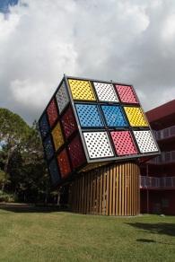 Huge Rubix cube