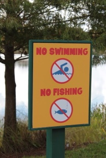 After what happened in June, there were clear signs that told you that you could not swim.