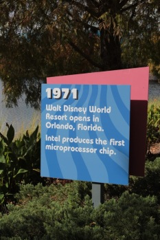 These signs were along the path that lead to the bridge to the Art of Animation.