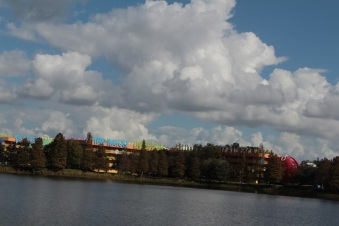 View from across Hourglass Lake - 50's area