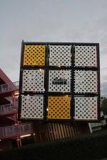 Giant Rubix cube