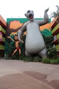 Baloo and Mowgli