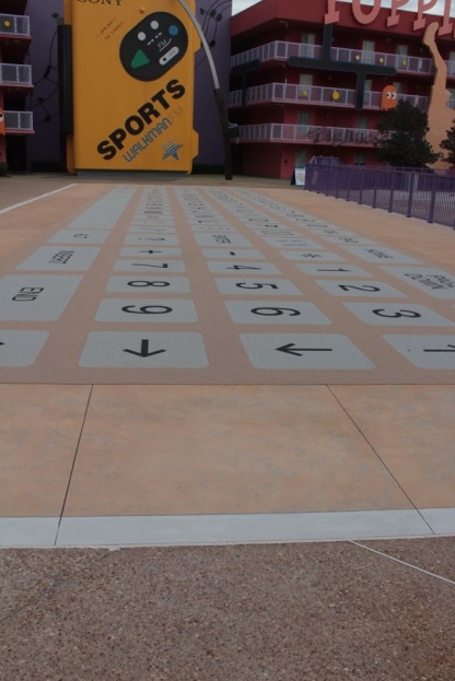 Giant Keyboard on the sidewalk