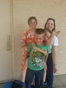 Aunt Missy, the boys, and I