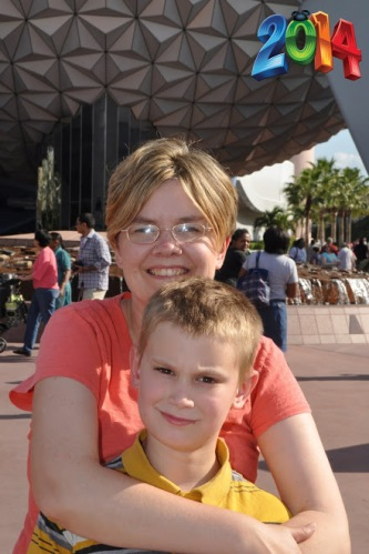 Mom Nick Epcot #2