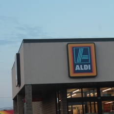 Made a quick stop at Aldi