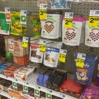 Look at the healthish junk food at Rite Aid