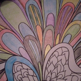 Coloring (Not all of that was done tonight.)