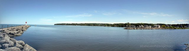 pano lake ontario - webster
