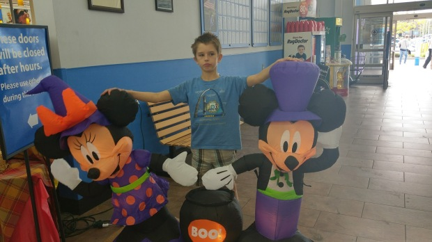 Haunted Mickey and Minnie