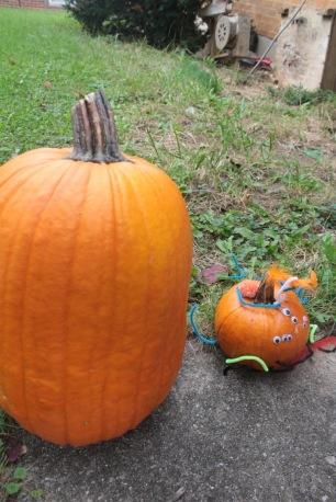 Jeff and the Big Pumpkin