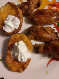 Apricot BBQ Chicken Wings