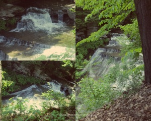 middle waterfall