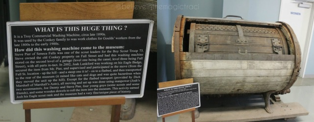 seneca museum - washing machine