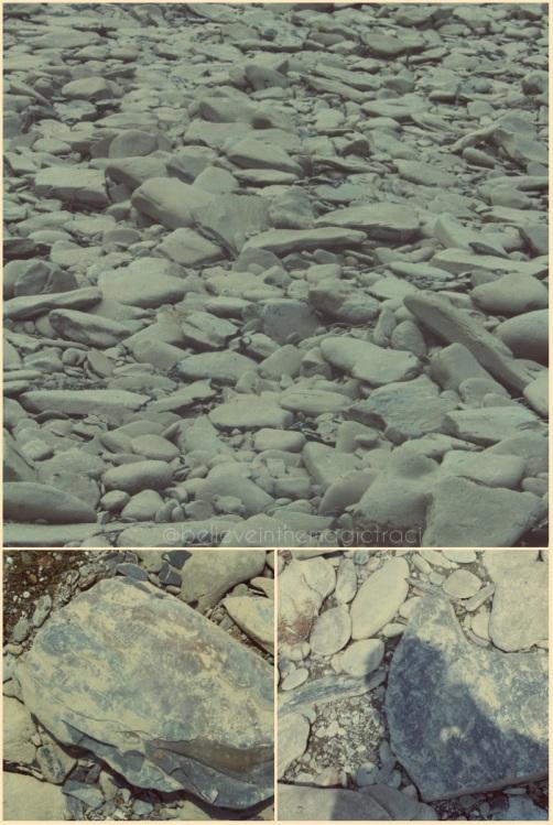 St Helena rocks