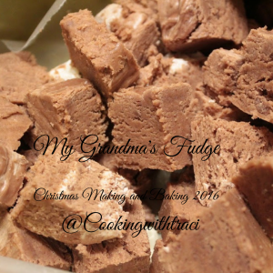 My grandma's fudge