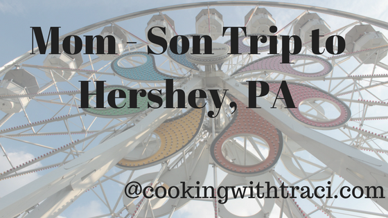 The Rest of the Day at Hershey Park – Blog Post #7